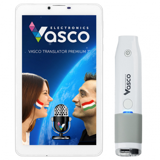 "Vasco Translator Premium 7"" with Scanner"